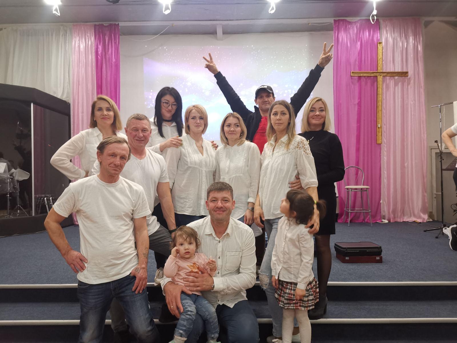 День рождение церкви.