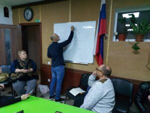 Коучинг обучение с пастором Михаилом Карловым.